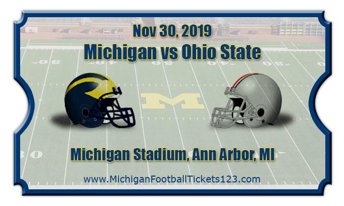 Michigan Wolverines Vs Ohio State Buckeyes Football Tickets