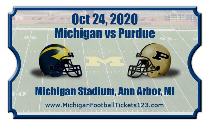Michigan Wolverines vs Purdue Boilermakers Football ...